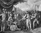 Wichmann the Younger surrenders to the Polish Prince ...