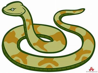 Snake Clipart Clip Cliparts Snakes Cartoon Venomous