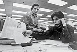 Bob Woodward and Carl Bernstein do research vital to their ...