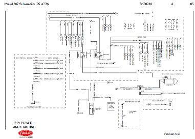 Pacar W900 Fuse Diagram 2001 before oct 15 2001 peterbilt 387 complete wiring diagram