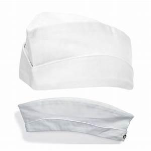 Calot De Cuisine Blanc 100 Coton Peut Bouillir