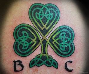 Celtic Clover Tatto Pictures to Pin on Pinterest - TattoosKid