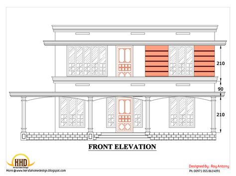 interior design in kerala homes 2d house plan sloping squared roof kerala home design