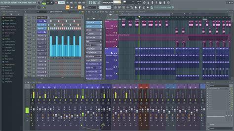logiciel sequenceur daw image  fl studio  producer