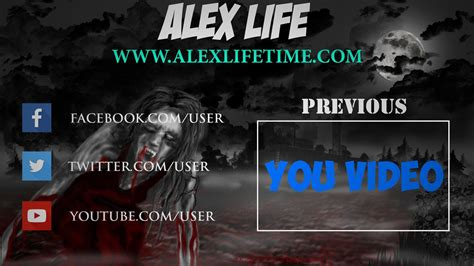 Famous Free Outro Template Sony Vegas Gift Professional