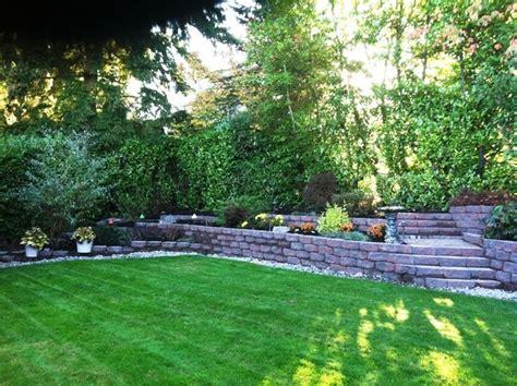 landscaping ideas retaining wall hillside landscaping hillside landscaping ideas retaining walls