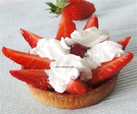 tarte aux fraises sans cr 232 me p 226 tissi 232 re aux fourneaux
