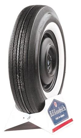note on photos shown tire and whitewall sizes are approximate and are offered as an exle of how the tire generally bf goodrich 600 13 2 quot whitewall bias ply