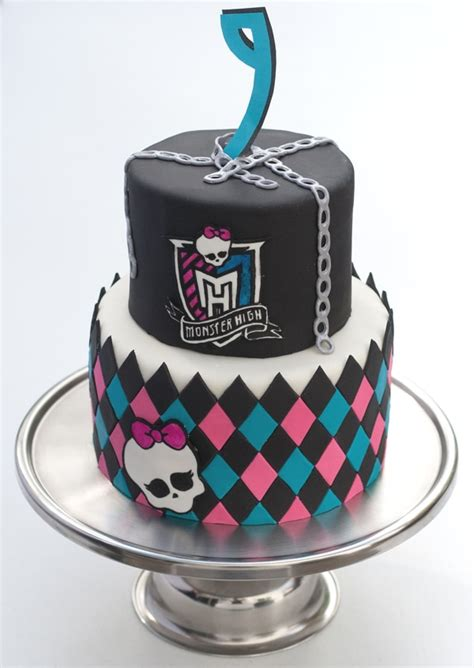 cool monster high cakes pretty  party