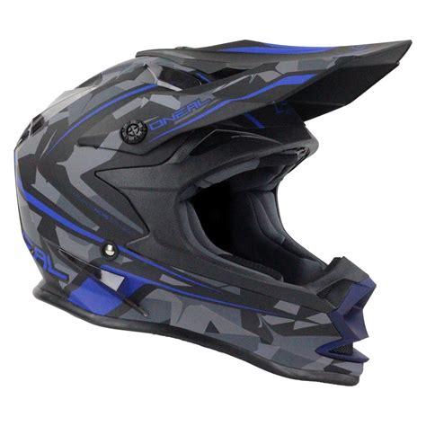 camo motocross oneal new 2017 mx 7 series evo dirt bike camo matte blue