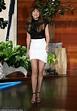 Dakota Johnson addresses Chris Martin baby rumors on Ellen ...