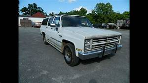 1987 Chevy C20 Suburban Pickup  7  14 Public Auction In