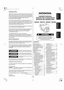 Download Honda Gx390 User Manual