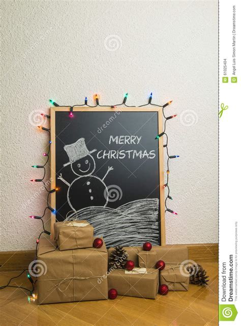 christmas gifts at home stock photo image 61025404