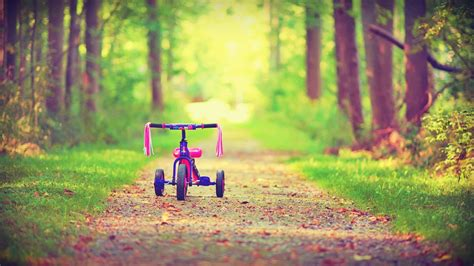 kids bicyc hd wallpaper background images