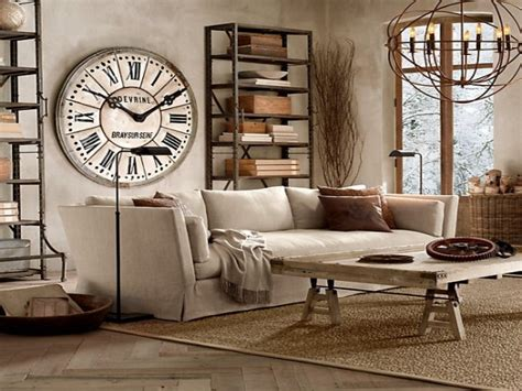 Country Living Room Clocks by Masculine Beds Living Room Wall Clocks Large Living Room