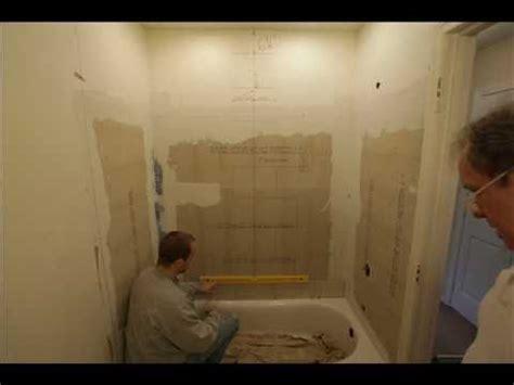 11701 bathroom tile spacing bathroom shower niche installation tile layout recessed 11701