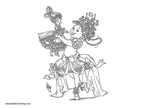 fancy nancy coloring pages fancy nancy coloring pages with doll free printable