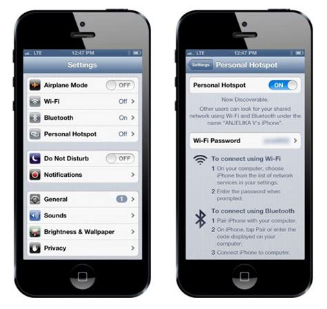 your iphone to allow personal tethering no jailbreak