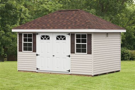 Storage Houses For Backyard by Amish Outdoor Storage Sheds Lancaster Pa The Backyard