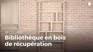 Fabriquer Une Bibliothèque Murale : fabriquer une biblioth que en bois de r cup ration fabriquer des meubles avec des palettes ~ Louise-bijoux.com Idées de Décoration
