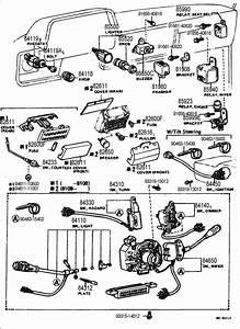 Toyota Pickup Switch Assy  Turn Signal