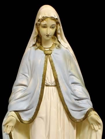 Statue Blessed Virgin Mary Roman Catholic