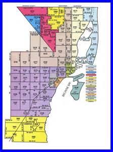 Miami-Dade Zip Code Map
