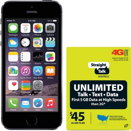 iphones for talk at walmart talk apple iphone 5s 16gb 4g lte at t refurbished