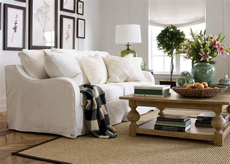 Slipcovered Sofa by Slipcovered Sofa Sofas Loveseats Ethan Allen