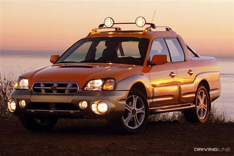 Baja Revisited: Was Subaru's Turbocharged Pickup Ahead of ...