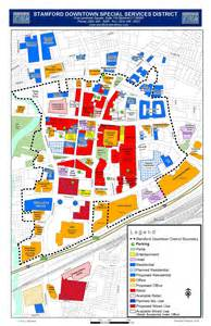Downtown Stamford CT Map