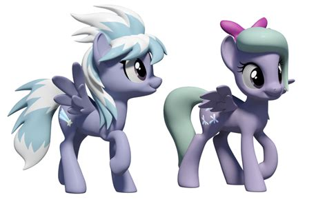 Flitter And Cloudchaser 3d Models By Clawed-nyasu On