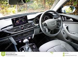 Audi A6 Hybride : int rieur hybride d 39 audi a6 photographie ditorial image 39014807 ~ Medecine-chirurgie-esthetiques.com Avis de Voitures