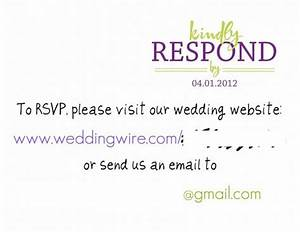 rsvp cards weddingbee photo gallery With electronic wedding invitations with rsvp