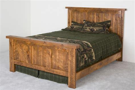 barn wood bed   king queen full  twin