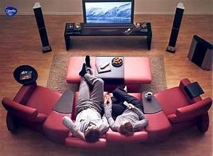 Heimkino Einrichten Lassen : die besten 17 ideen zu heimkino auf pinterest filmzimmer ~ Michelbontemps.com Haus und Dekorationen