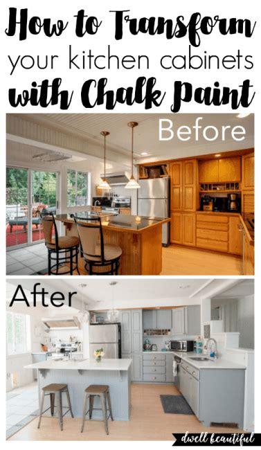 How To Chalk Paint Cabinets by How To Paint Your Kitchen Cabinets With Chalk Paint
