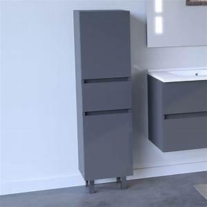 Profilé Alu Salle De Bain : colonne salle de bain armoire salle de bain sur pieds ~ Premium-room.com Idées de Décoration