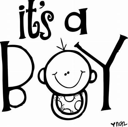 Boy Clipart Shower Its Congratulations Melonheadz Clip
