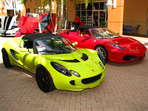 For more info on the latest models, check out our pricing and specs page, and you'll find all ferrari reviews and news here. Lotus Elise & Ferrari F430 Supercars - Pep Boys Exotic & C… | Flickr