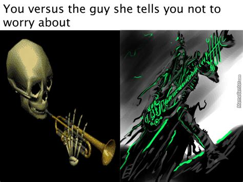 Necron Memes - necrons are to spooky for your silly skeletons by splitcell meme center