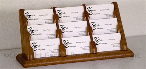 Wooden Multiple Business Card Holders Business Plan Write Up Samples Attire In Singapore Proposal Ideas Agreement Template Word Free Nonprofit Nigeria Casual For Young Professionals
