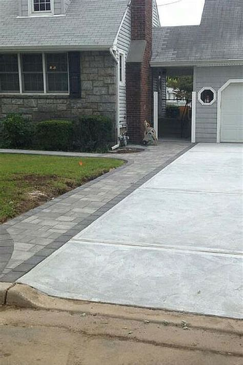 driveway borders create a beautiful driveway border with cambridge pavingstones this driveway was installed by
