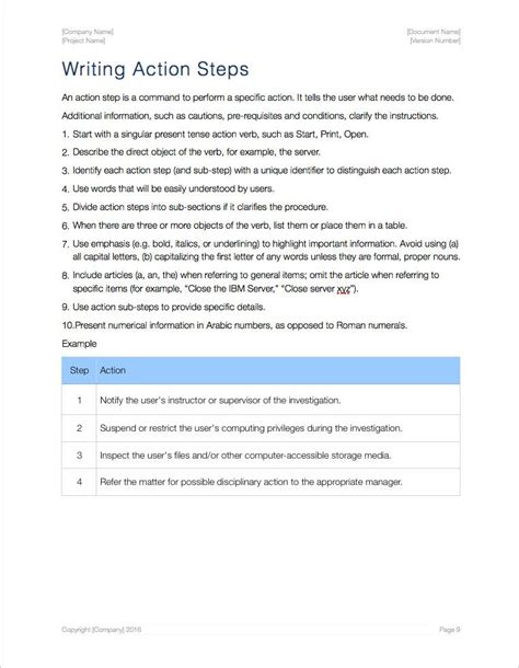 essay tutorial standard operating procedure sop apple iwork pages numbers
