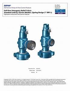 Spm U00ae 2 Inch Relief Valves Manual