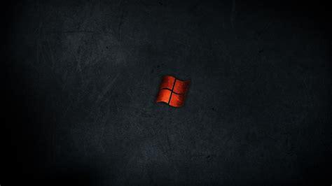 minimalistic dark red metal windows wallpaper