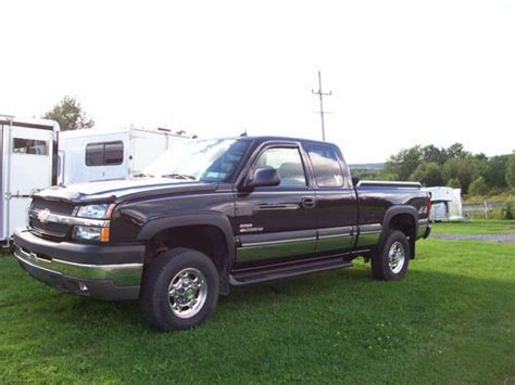 Purchase Used 2004 Chevy 2500hd With Duramax Diesel And