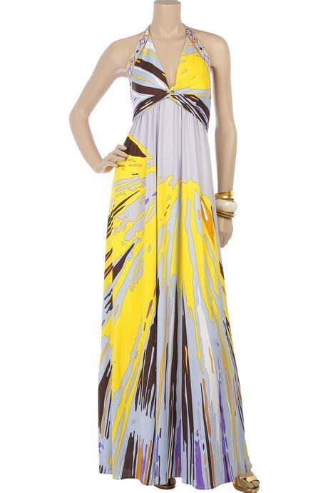 gray  yellow dress