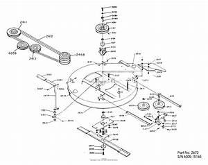 Dixon Ztr 311  1984  Parts Diagram For Mower Deck Assembly